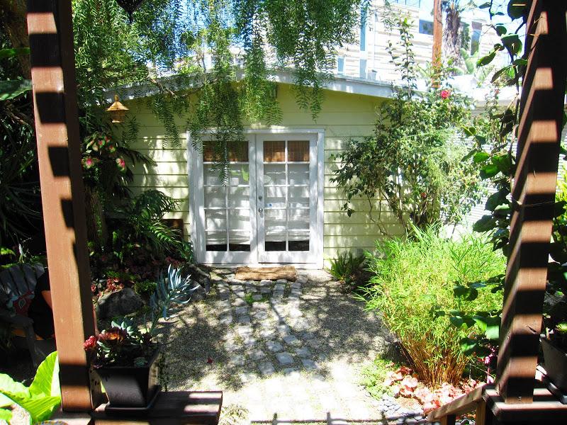 Lush garden in Venice Beach, CA