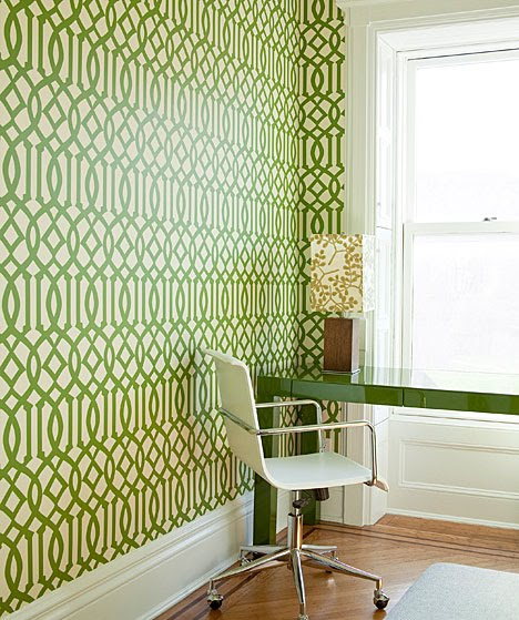 Office Desk Wallpaper: A NEW YORK BROWNSTONE GETS A TOTAL REVAMP FROM THE