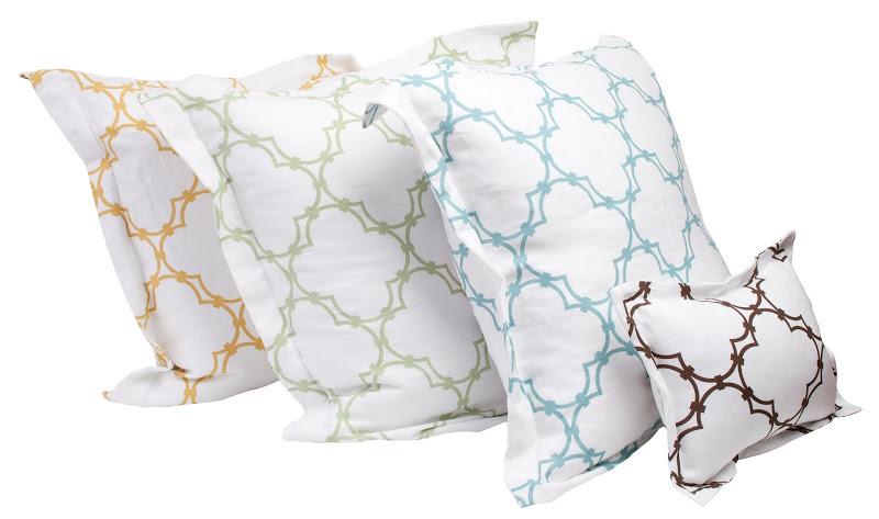 COCOCOZY bedding - shams and boudoir pillow