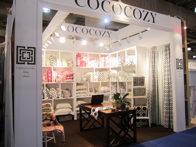 first ever COCOCOZY trade show booth