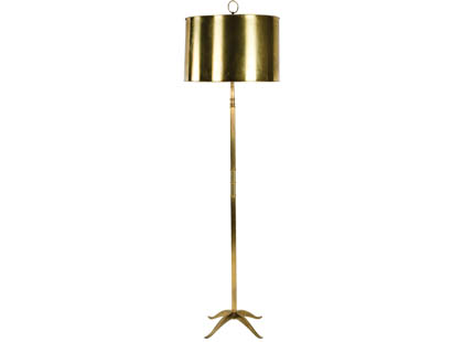Brass porter lamp from Jayson Home & Garden