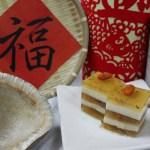 有機年菜第一彈:椰香桂花糕