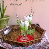 Refreshing Cucumber-Mint Julep: Mom's Persian Sekanjamin