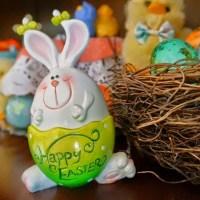 Glittery Eggs + Armenian Easter Cake (Paska)