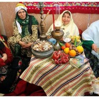 Mini Pomegranate-Pistachio Meatballs: An Interview with Najmieh Batmanglij #Yalda2014