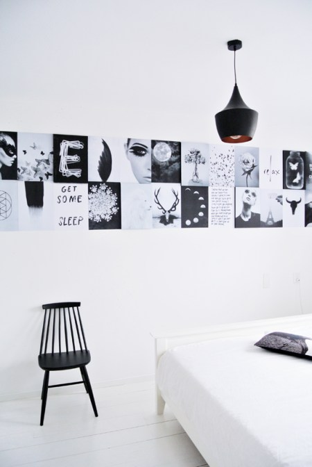 Grahpic Wall by Marij Hessel - via Coco Lapine