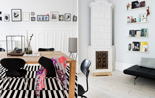 Grafic with a feminine twist - via Coco Lapine Design