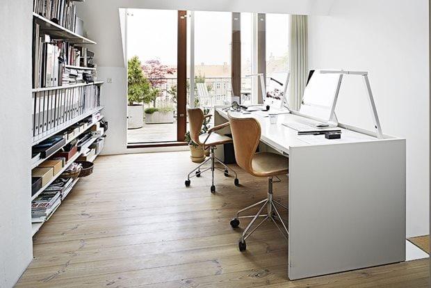 Home of an interior architect - via Coco Lapine Design