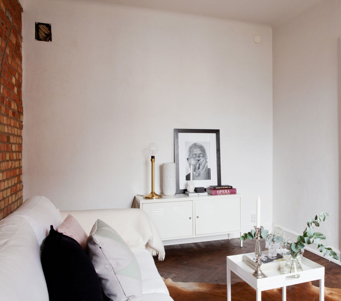 Exposed brick wall in Malmo - via Coco Lapine Design
