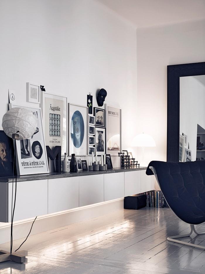a smart swedish home via coco lapine design - Swedish Home Design