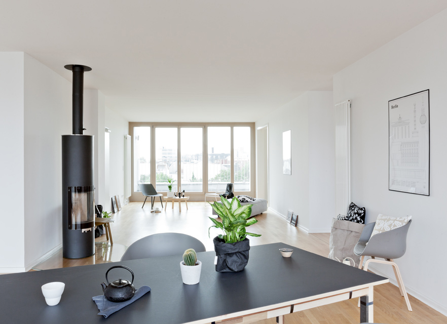 Penthouse in Berlin - styling by cocolapinedesign.com