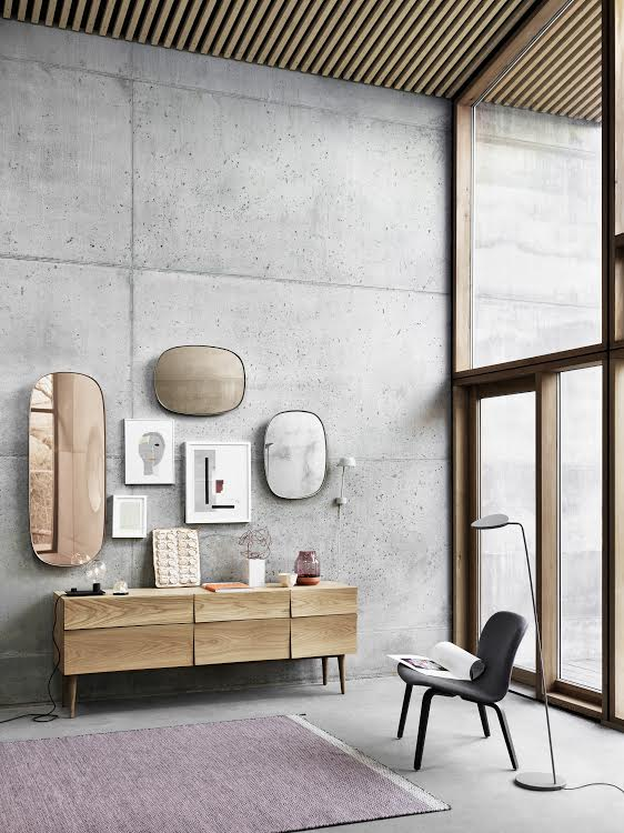 Framed mirrors by Muuto - via cocolapinedesign.com