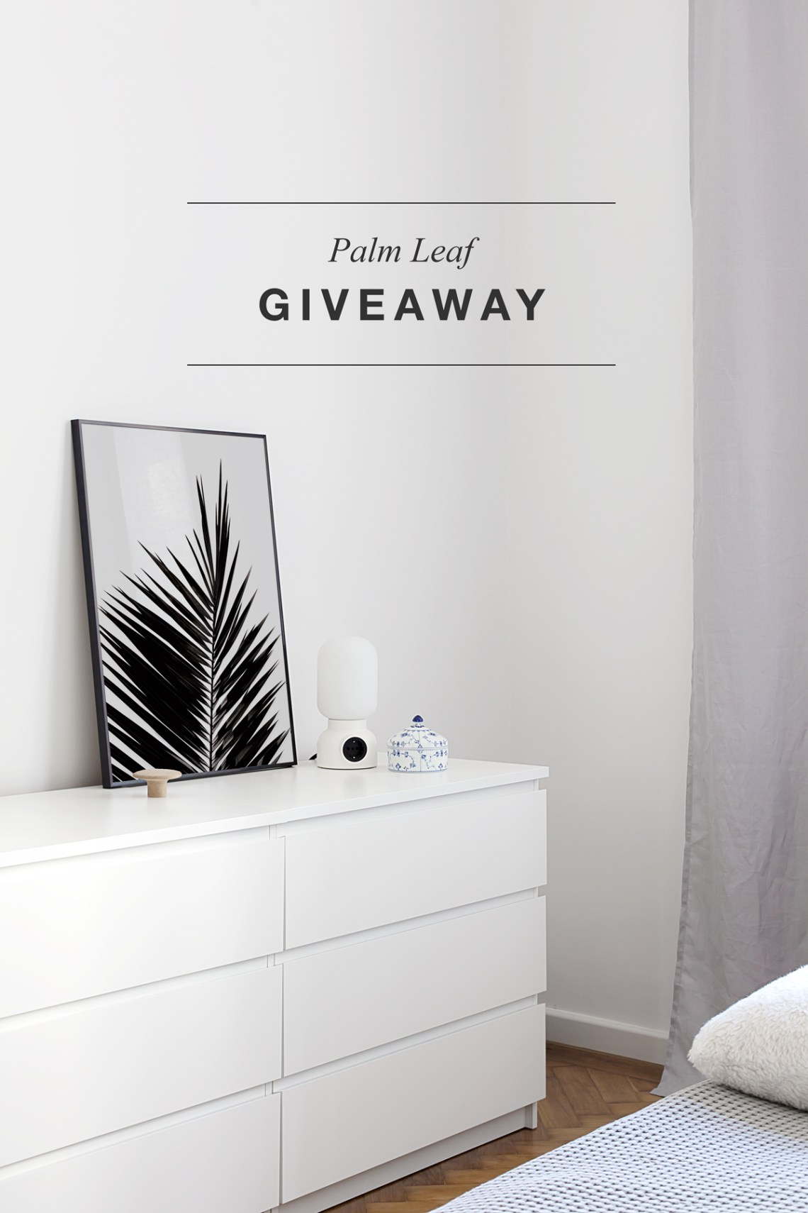 Giveaway: 'Palm Leaf' print - cocolapinedesign.com