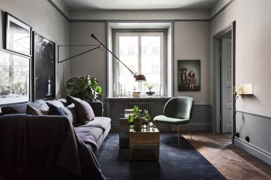 Dark And Moody Home COCO LAPINE DESIGNCOCO LAPINE DESIGN