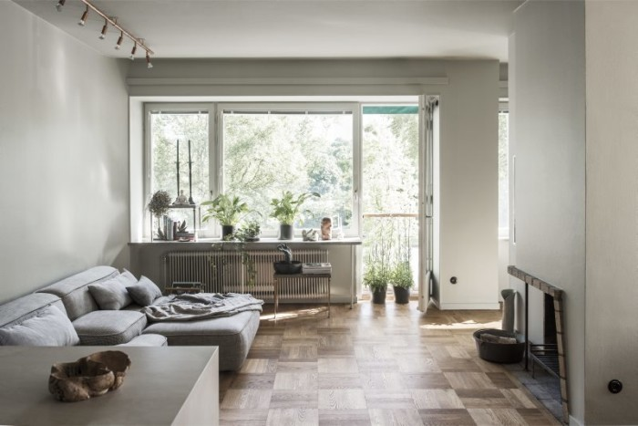 Home in green shades - via Coco Lapine Design