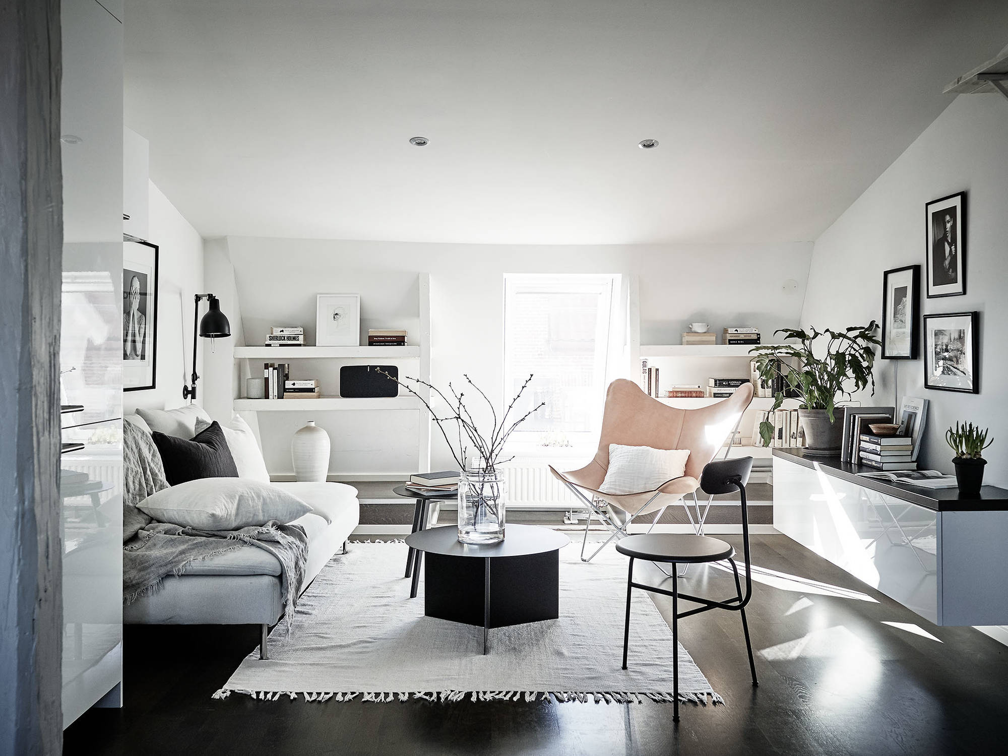 Apartments stylish design new photo