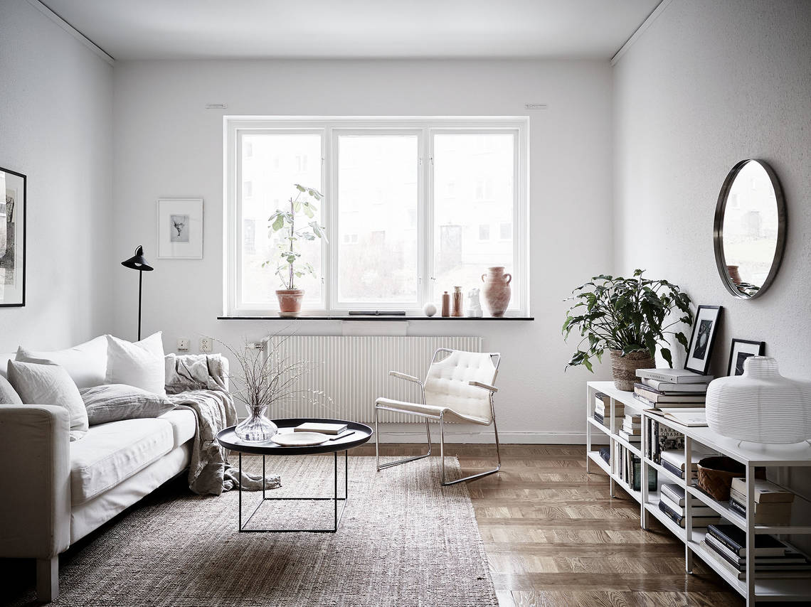 Home in warm tints - via Coco