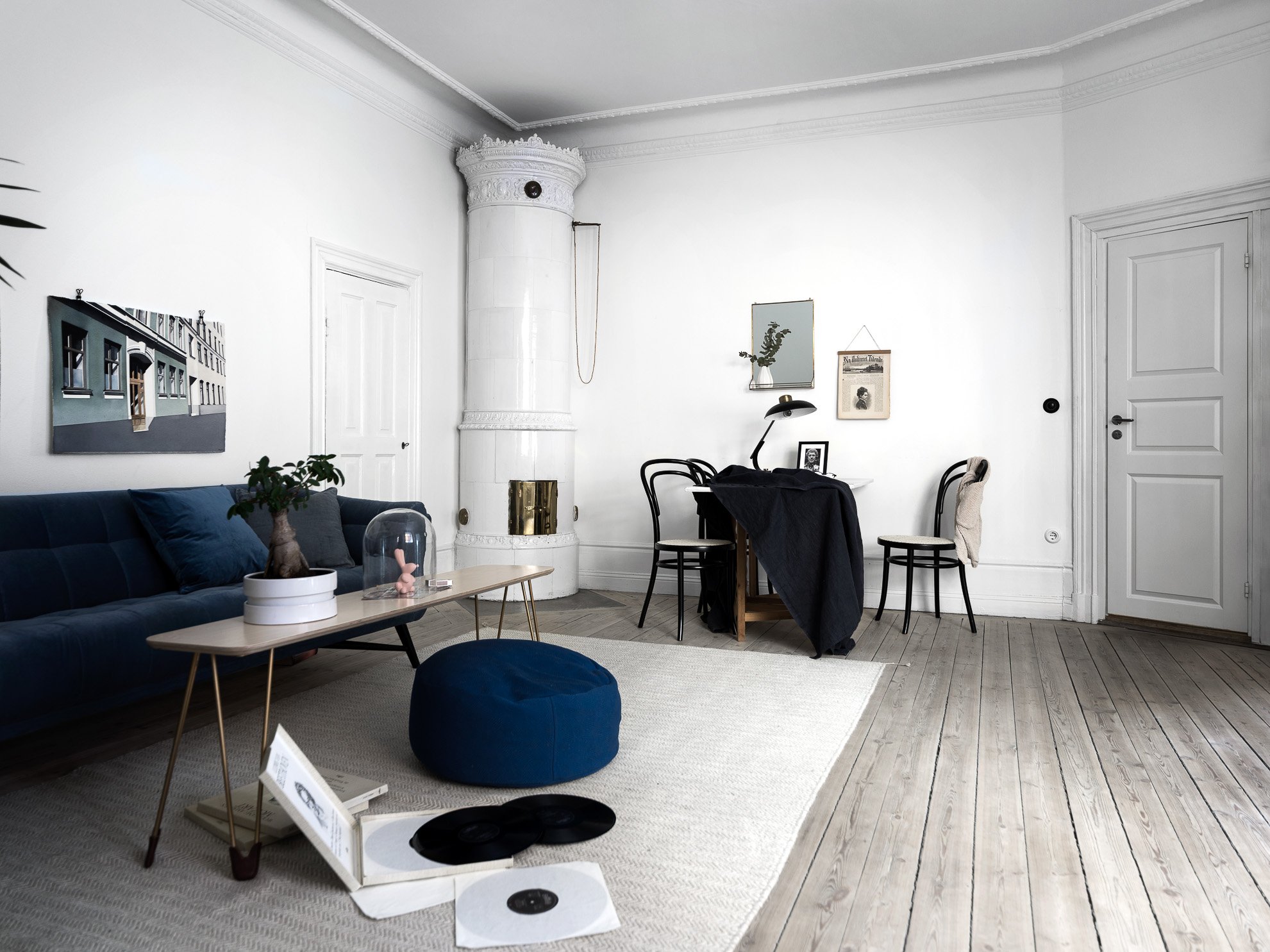 Small home with character coco lapine design bloglovin - Kleiner couchtisch weiay ...
