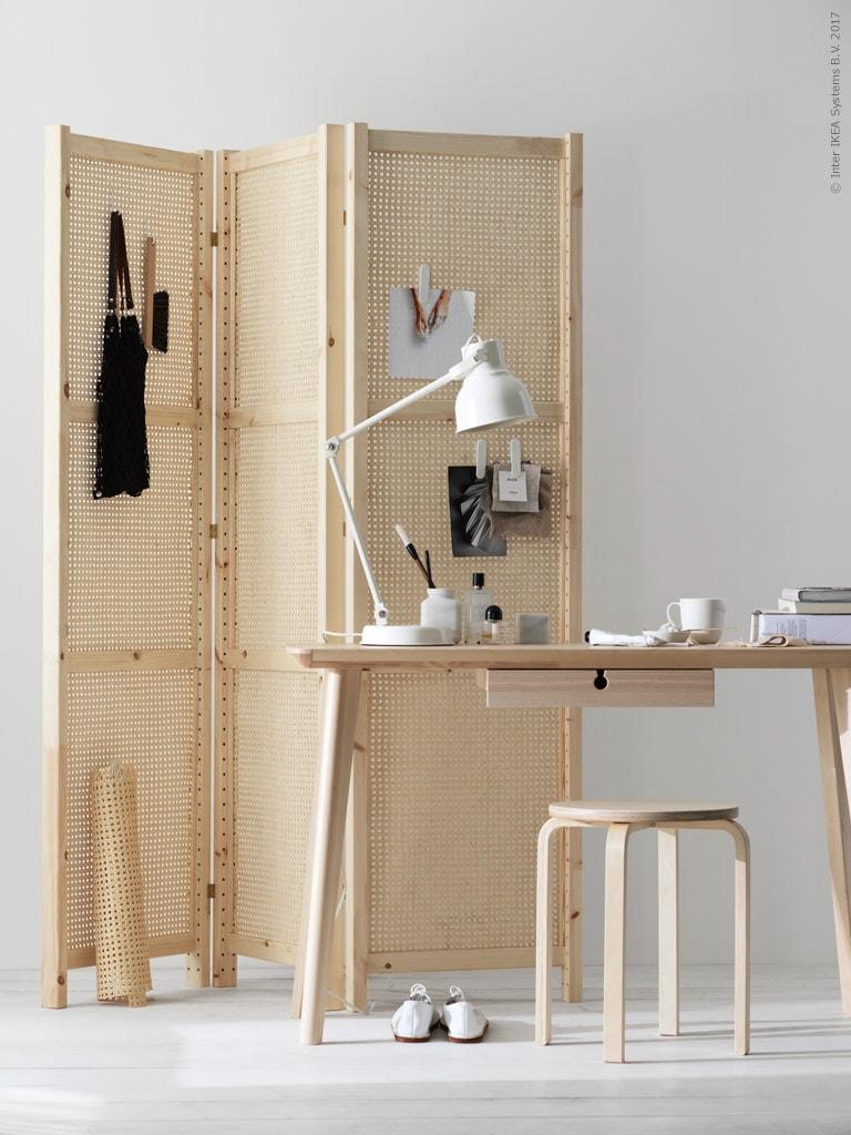 diy folding screen via coco lapine design blog