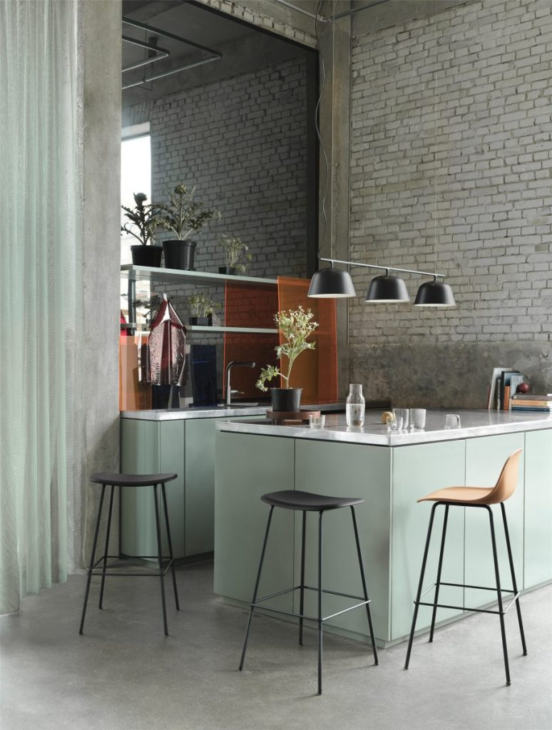 Muuto restaurant setting - via Coco Lapine Design blog