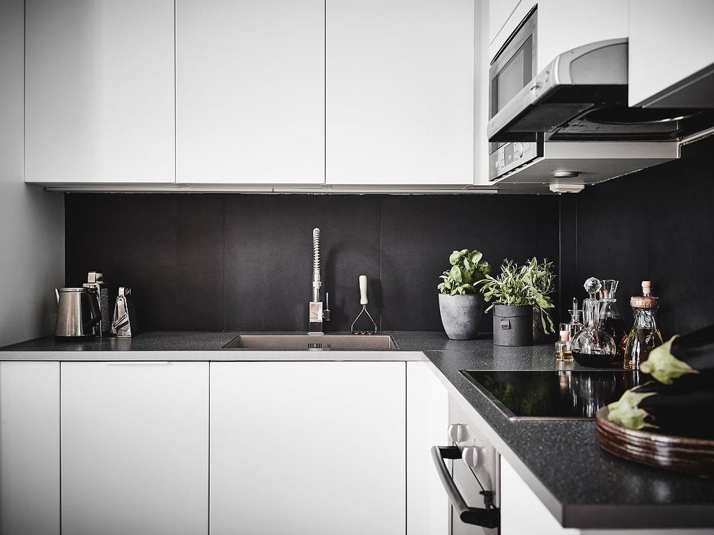 ... Exposed Brick And Black Bedroom Walls   Via Coco Lapine Design Blog ...