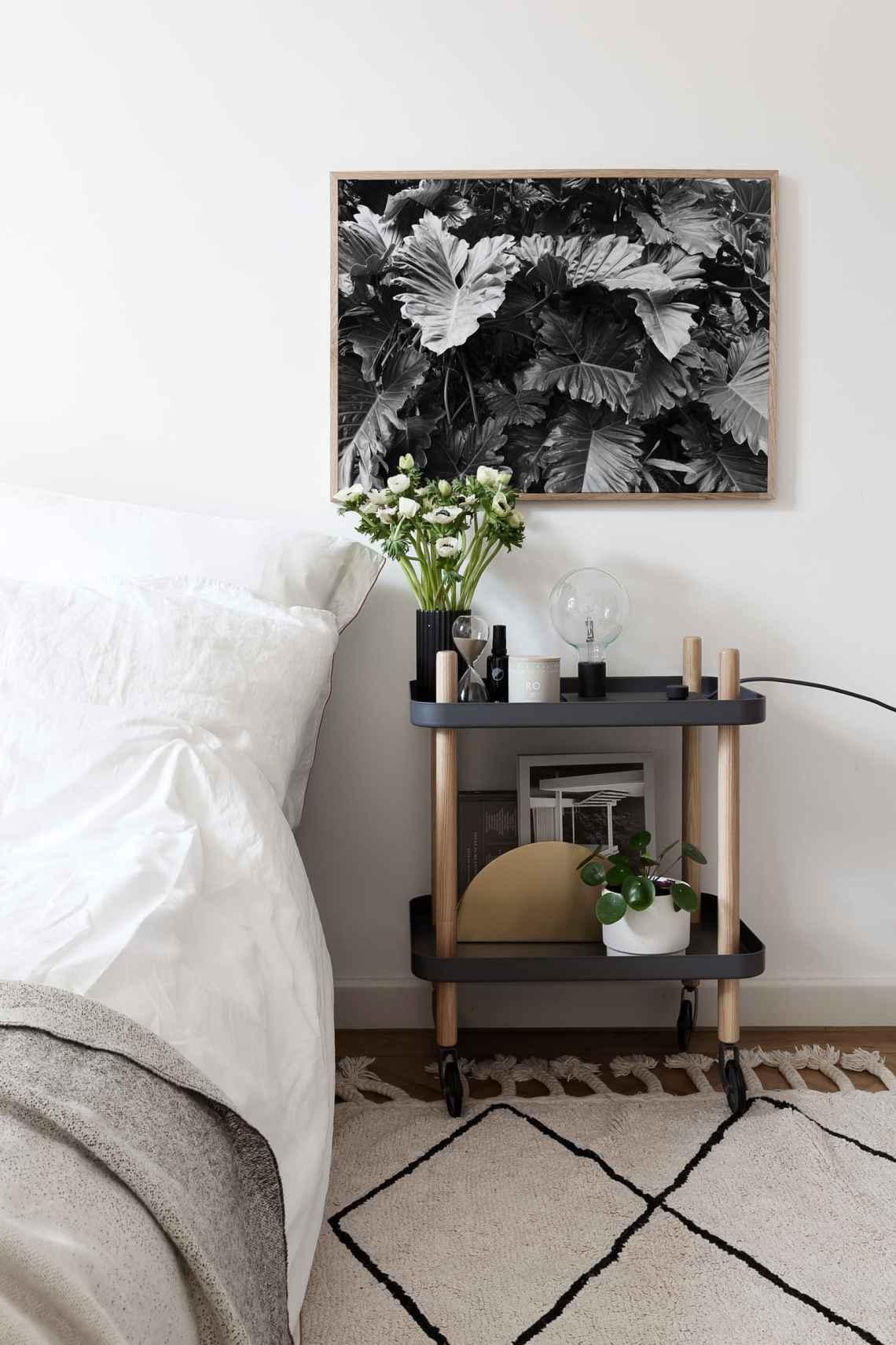 Bedside table - via Coco Lapine Design blog