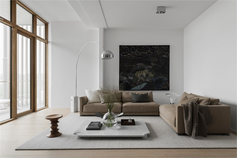 Spacious and minimal home