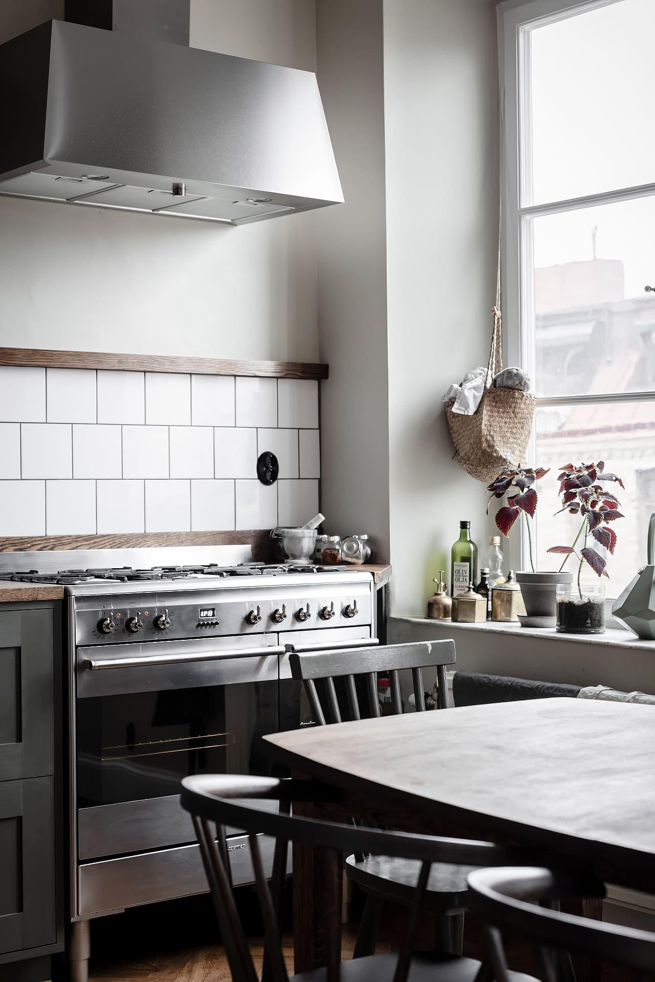keuken olijfgroen hout