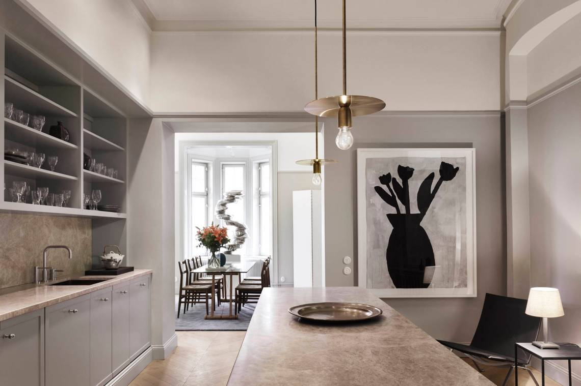 A sophisticated Stockholm home