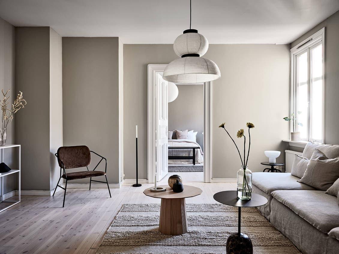 Simple beige home