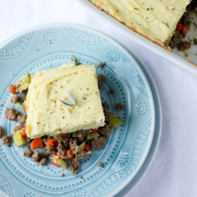Shepherd's Pie - Coconut Contentment