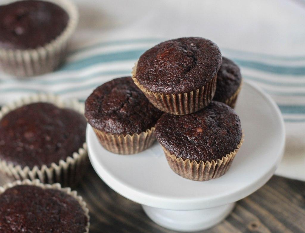 Rich Dark Chocolate Mini Muffins (Paleo) Coconut Contentment