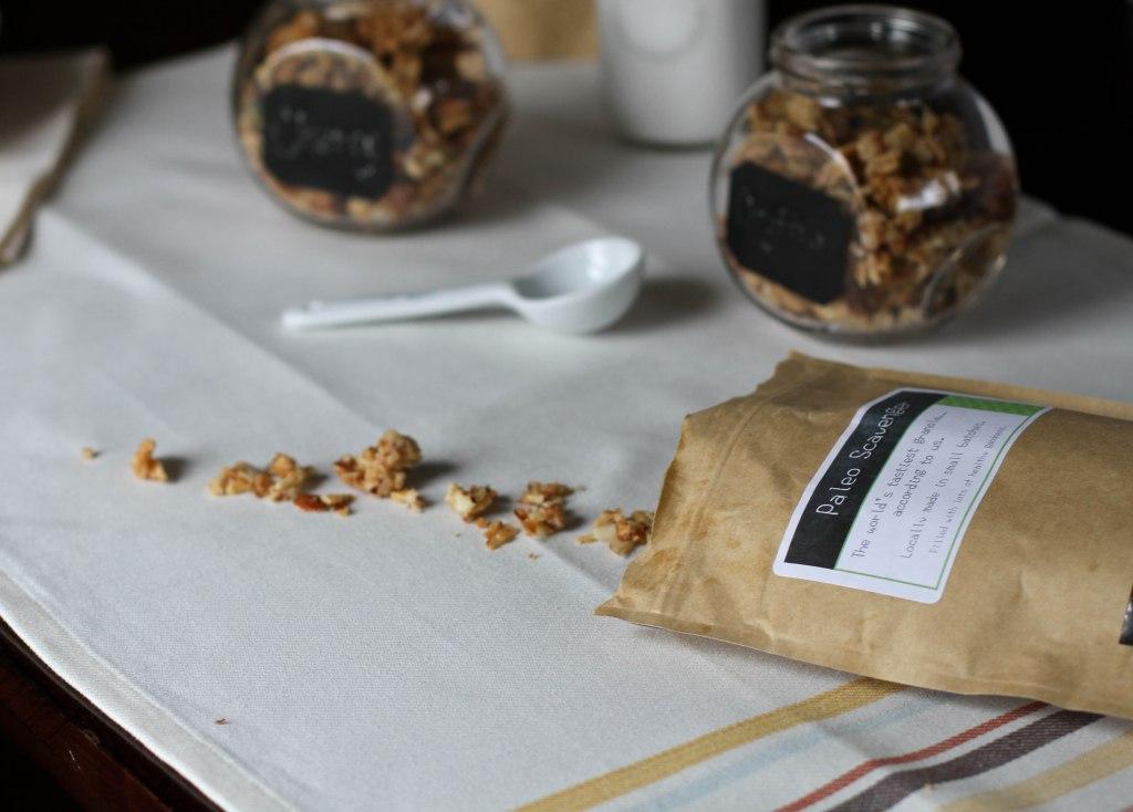 Paleo Scavenger Granola Review and Surprise (a coupon!) - Coconut Contentment
