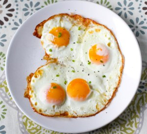 Oven Fried Eggs - Perfect every time - Coconut Contentment