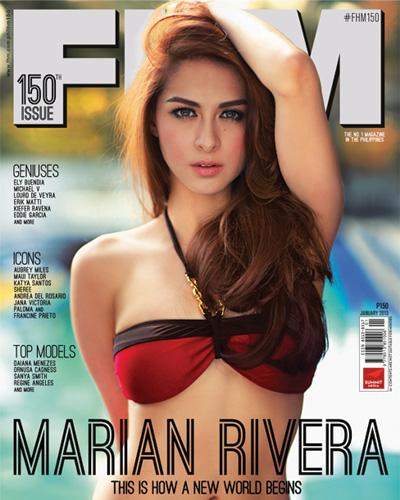 Marian Rivera FHM Philippines Cover