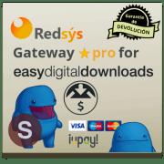 RedSys Gateway for EDD Pro con ayuda a la instalación y configuración