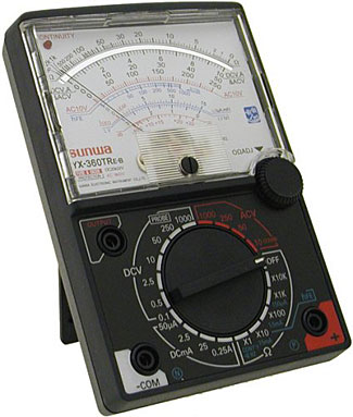 A great value analog meter, the Mastech YX360.
