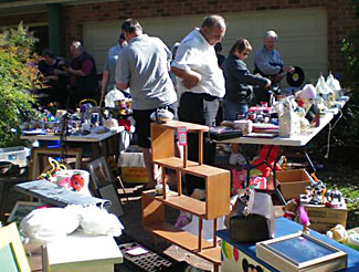 A garage sale can seem to be full of tempting bargains. But are they really as great as they seem?
