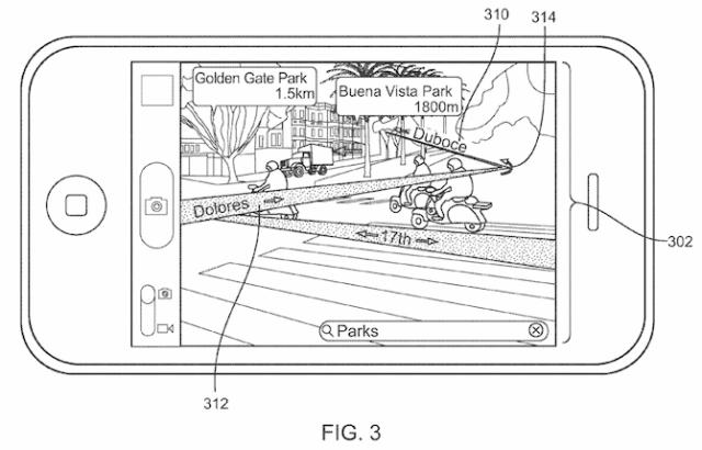 Una patente de Apple presentada con anterioridad.