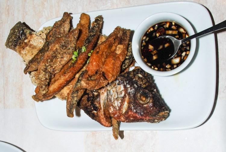 Crispy Talapia fish - Filippino food