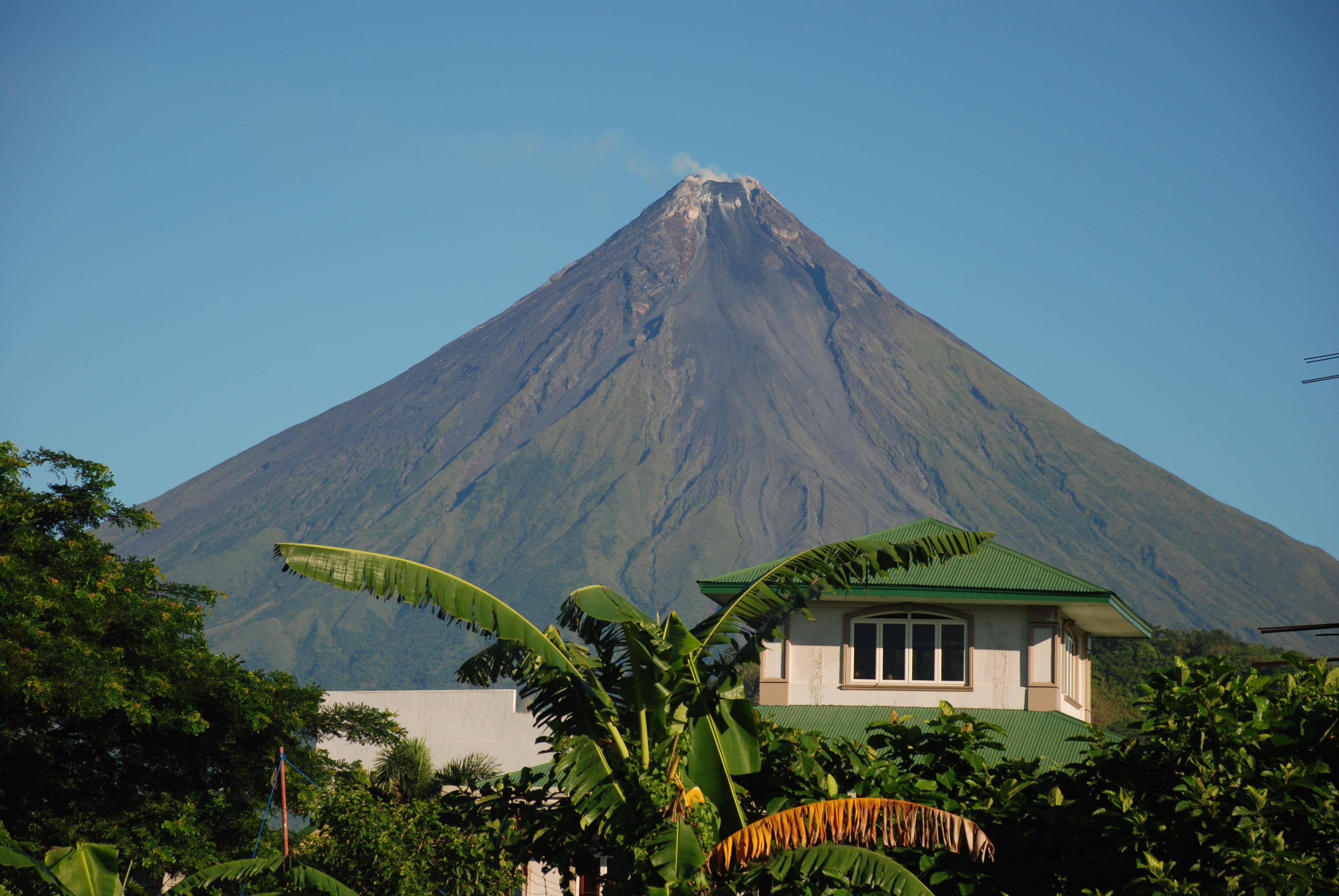 Mayón volcano, Bicol region, Philippines. Oct 2016