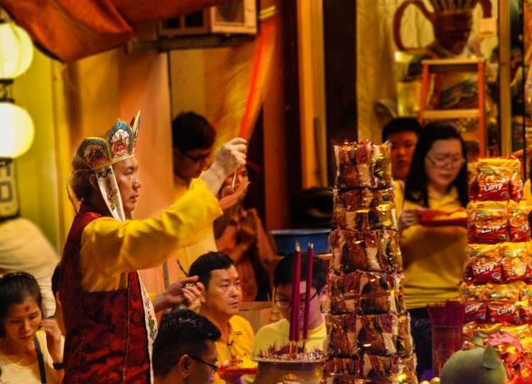 Taoist ceremony, Chinese New Year in Penang