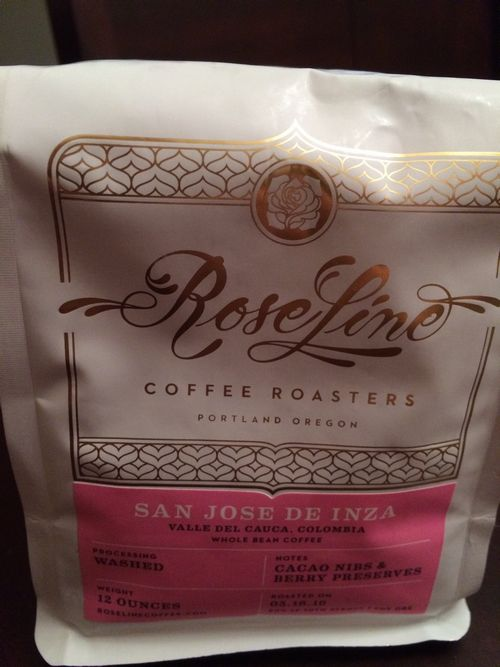 Review: Roseline Coffee Colombia San Jose de Inza (Portland, Oregon)