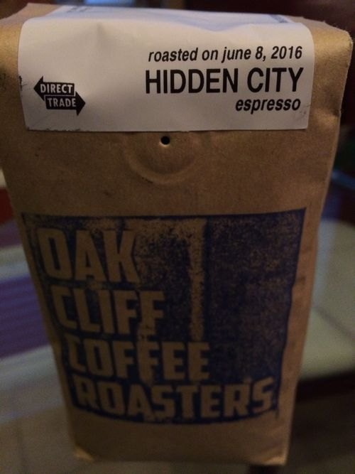 Review: Oak Cliff Coffee Roasters Hidden City Espresso (Dallas, Texas)