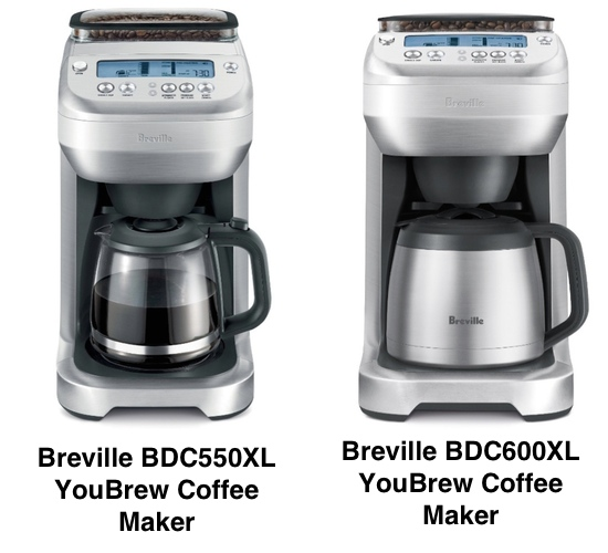 The Difference Between Breville BDC600XL vs. BDC550XL YouBrew Coffee Maker Coffee Gear at Home
