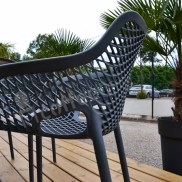 fauteuil outdoor pour professionnels hotellerie-restauration