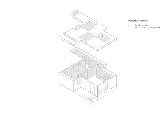 Hidden House_ Axonometric Diagram