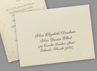 Addressing Wedding Invitations to Same-sex Couples ...