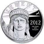 2012 Platinum Proof Obverse