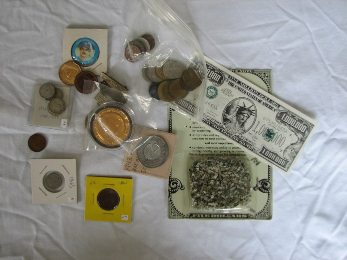 Some of the numismatic items found during my attempt to organize my chaos.
